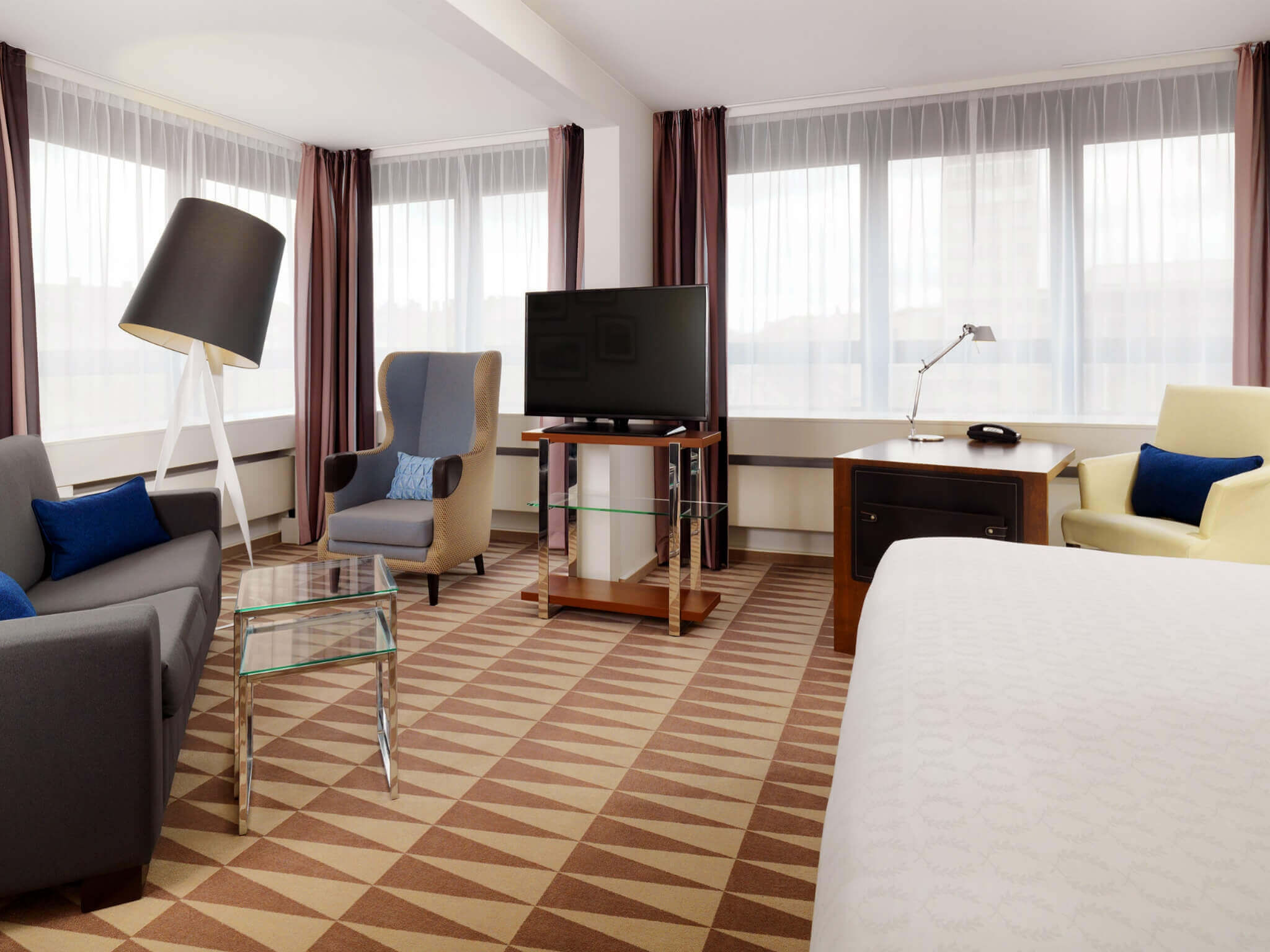 Junior Suite - Sheraton Munich Westpark Hotel